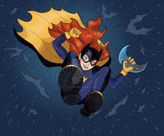 Batgirl by obrienalana Barbara Gordon Oracle, Batgirl Of Burnside, Nightwing, Batman, Superhero, Twitter Twitter, Fictional Characters, Art, Art Background