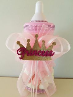 Details about Princess Crown Centerpiece Bottle Large Baby Shower Piggy Bank Girl Decor - Baby S - Baby Tips Baby Girl Shower Themes, Girl Baby Shower Decorations, Baby Shower Party Supplies, Baby Shower Princess, Baby Shower Cakes, Baby Shower Parties, Baby Boy Shower, Girl Decor, Princess Centerpieces