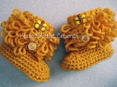 loopy boots free pattern