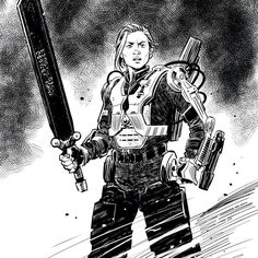 Sergeant Rita Rose Vrataski By Cameron Stewart
