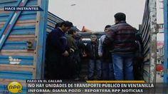 Corredor Azul: Transportistas del Callao acatan paro contra el servicio  #Peru21