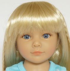 A close up of Kidz 'n' Cats Marina, one of the new dolls for 2015 by Sonya Hartmann