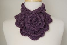 Crochet Neck Wrap by LovelyDejaVu on Etsy
