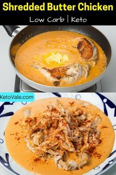 Low Carb Keto Butter Chicken