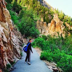 Timpanogos Cave National Monument The hike is a killer, but survivors will enjoy the beautiful cave formations.