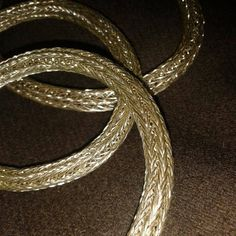Viking knit bracelet by Vikingreenactment on Etsy