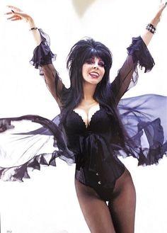 elviratheshow - Posts tagged Elvira Mistress Of The Dark Cassandra Peterson, Goth Beauty, Dark Beauty, Elvira Costume, Elvira Movies, Dark Princess, Goth Women, Horror Icons, Sexy Older Women