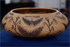 Native American Basket Weaving   Now that it's known to be the work of Sarah Mayo, this basket could ...