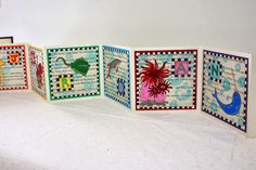 Birthday Book - PAPER CRAFTS, SCRAPBOOKING & ATCs (ARTIST TRADING CARDS)