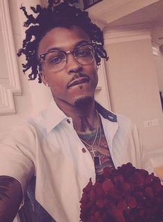 augustestimony:@augustalsina: Yung Boy that'll bring you flowers  MCM