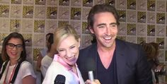 Lee Pace Fan! — Lee & Cate Blanchett at San Diego Comic Con 2014..