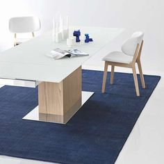 The Park Gl Extending Dining Table By Calligaris Features A Sy Toughened Top Can Be