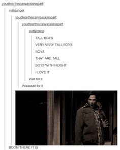 multidimensional wavelength of fandom intent — In which the supernatural fandom has a gif for everything (part everyone just KNOWS that spn is coming Supernatural Fandom, Castiel, Quotes Supernatural, Spn Memes, Supernatural Crossover, Supernatural Bloopers, Supernatural Tattoo, Wallpapers Supernatural, Sherlock