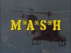 The TV show (and film) M*A*S*H depicted a team of doctors situated in the Korean War. The show was a success, and once again depicted a relationship between the military and the entertainment industry. Tv Themes, The Lone Ranger, Old Shows, Great Tv Shows, Old Tv, Classic Tv, Theme Song, The Good Old Days, Best Shows Ever