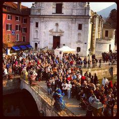carnaval veneciano en Annecy. FR.-