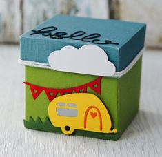 I am Katie and am a Creative Designer for Sizzix. I specialize in papercraft design and love to create cards, home décor and scrapbook layouts. Candy Cart, Paper Crafts, Diy Crafts, Chocolate Bouquet, Exploding Boxes, Explosion Box, Creative Design, Gift Wrapping, Gift Boxes