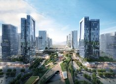 10 DESIGN Wins Competition for Massive Urban Development in Zhuhai | ArchDaily