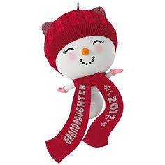Are you looking for Hallmark Snowman Ornaments? You'll love these super cute snowman Christmas tree ornaments and you'll find plenty of ideas on this page. Christmas 2018 Ideas, Black Christmas Trees, Unique Christmas Ornaments, Snowman Ornaments, Hanging Ornaments, Christmas Snowman, Snowmen, Ornament Storage, Pink Gloves