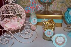 "Photo 1 of 36: Shabby Chic, Vintage Glam / Birthday ""Princess Jaidyn's Royal Celebration"" 