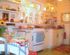retro kitsch kitchen