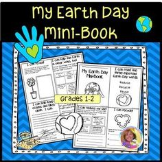 This is an interactive mini book with eight pages focusing on the three important Earth Day words: reuse, recycle, and reduce. Simply copy and go. There is no teacher prep. Students can cut the eight page book and staple it together. It's done in black and white mainly so kids can color and write.