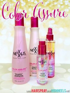 Prevent Color Fade with Nexxus Assure Color System!