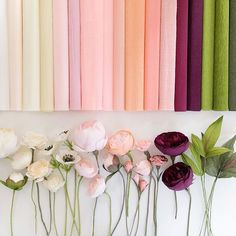 64 Trendy Ideas for origami blumen wand Crepe Paper Flowers, Paper Flower Backdrop, Felt Flowers, Diy Flowers, Fabric Flowers, Flower Ideas, Wedding Flowers, Diy Paper, Paper Crafts