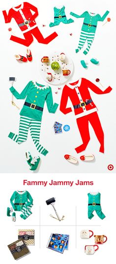 Take your Friday Night In to the next level with everything you need to host your own family dance party: the first annual fammy jammy jam. Get your family looking totally matchy-matchy in cozy PJs and spin your favorite holiday music. Little Christmas, Christmas And New Year, Winter Christmas, All Things Christmas, Christmas Holidays, Happy Holidays, Merry Christmas, Christmas Decorations, Christmas Ideas