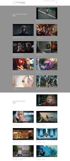 Website for Paul Ferdenzi, Film Editor Documentary Film, Feature Film, Photo Editor, Documentaries, Web Design, Chester, Artist, Website, Movie