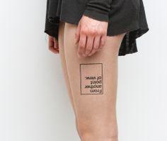 POV - temporary tattoo $5 | #tattoo #tattoos #temporarytattoo #tattify
