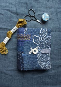 sewing book in japanese katazome cotton, linen and wool