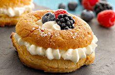 Crème Fraîche Rum Cakes