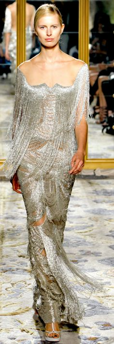 Marchesa, lots of detailed beading and embroidery.