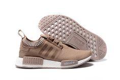 Adidas Originals NMD R1 Men Primeknit Boost Beige Tan