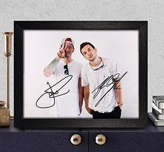 Tyler Joseph & Josh Dun Signed Autographed Photo 8x10 Reprint RP PP - Twenty One Pilots