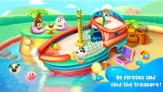 Dr. Panda's Swimming Pool. The app for 3+ for iPad/iPhone and Android. Good range of simple activities. Humor and fun factor. check the review: http://www.appysmarts.com/application/dr-panda-s-swimming-pool,id_121865.php