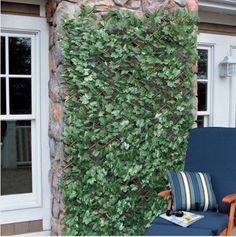 Amazon.com : Windscreen4less Expandable Artificial Leaf Leaves Faux Ivy Privacy Fence Screen Decor Windscreen : Patio, Lawn & Garden