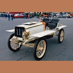 1903 De Dion Bouton Paris-Madrid Racer when owned by Geo. Wingard…