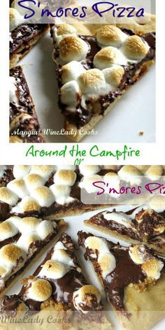 S'mores Pizza is so