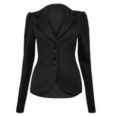 Envy Boutique - Veste Blazer Femme Habillé Bureau Moulant Epaulé 5 Bouton 36 - 42 - Noir, 36 Envy Boutique http://www.amazon.fr/dp/B00CJFE6P4/ref=cm_sw_r_pi_dp_Gef.ub1C2M6GT