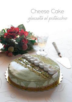 CHEESE CAKE GLASSATA AL PISTACCHIO di Bronte - Consigliatissima!