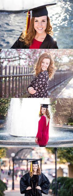 UGA Senior Photos | Athens Georgia | North Campus | Graduation Photographer