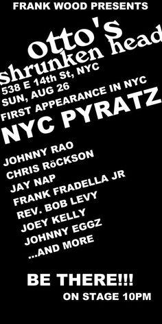 w/ Chris Rockson & The NYC Pyratz