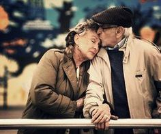 i love old people, that are still in love. Proves it can happen, you just have to work through everything.