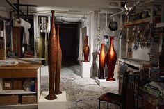 View of the studio. Zen, Contemporary Ceramics, Wardrobe Rack, Sculpture, Studio, Furniture, Home Decor, Atelier, Studios