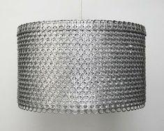 knutsel ideeen: lamp van blik lipjes