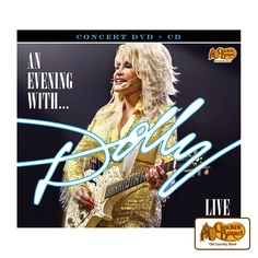 """This exclusive two-disc DVD and CD set can transport you to a front row seat in London as Dolly performs some of her most popular songs """"Coat of Many Colors,"""" """"9 to 5,"""" and """"Jolene,"""" live in front of her sold-out O2 arena concert.     Answer fun questions and you could win in the Cracker Barrel Old Country Store Pick it to Win it Sweepstakes. Start 'picking' your answers at crackerbarrel.com/win (ends Jan 2, 2013)."""