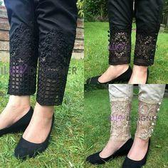 24 Best womens pants for work! Cigratte Pants, Plazzo Pants, Salwar Pants, Kurti Sleeves Design, Sleeves Designs For Dresses, Patiala, Churidar, Salwar Designs, Stylish Dress Designs