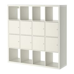 KALLAX Shelf unit with 8 inserts - IKEA. Another possible room divider :)