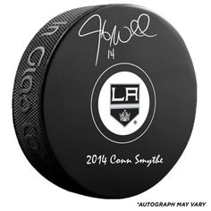 d2fdf5ab1fc Fanatics Authentic Autographed Justin Williams Los Angeles Kings Hockey Puck  with 2014 Conn Smythe Inscription Justin